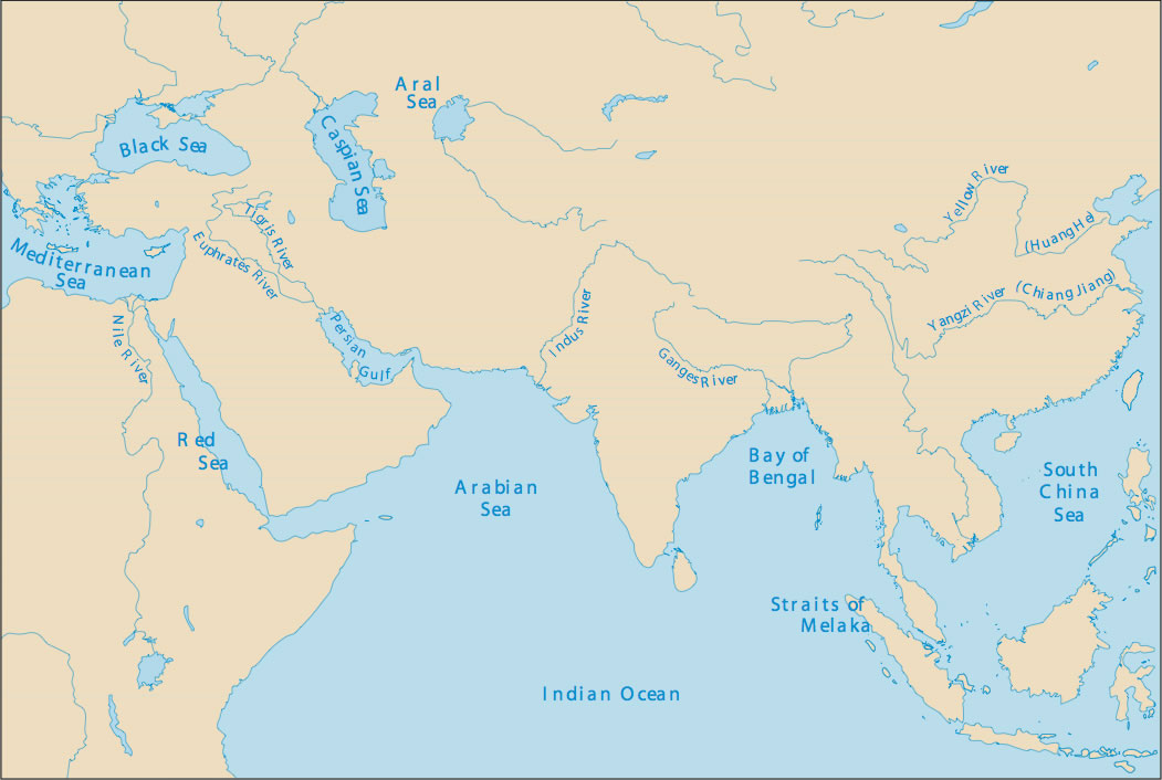Assignment 09 map of indian ocean routes gumiabroncs Image collections